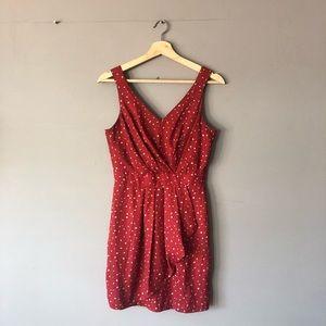 BcbGeneration red polka dot dress 4